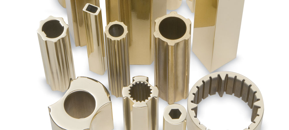 Brass and bronze extrusions